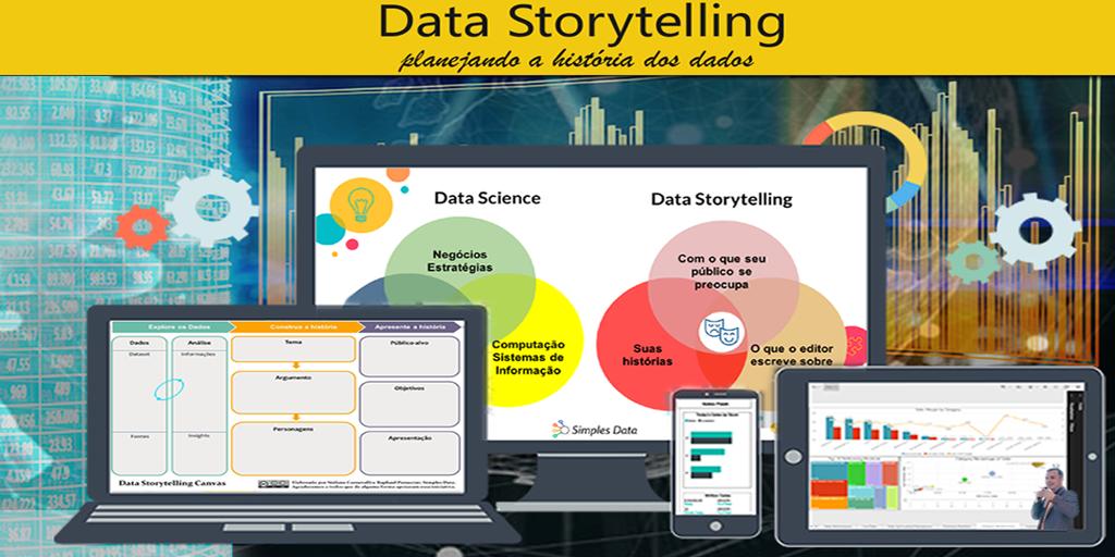 Curso Data Storytelling com aulas ao vivo