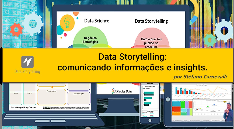 Comunicando informações e insights.